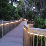 Boardwalk near Lake Bryan, peaceful, romantic, beautiful!