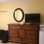 hanging space near room door