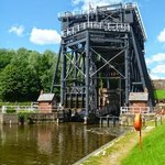 Anderton Boat Lift in the May sunshine 2014.