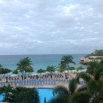 View from our balcony at Royal Islander La Plage St. Maarten, Village of Maho