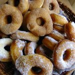 Sugar and cinnamon donuts