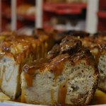 "Famous ""Caramel Bread Pudding"""