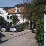 Entrance Villa Groff