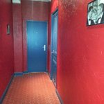 technicolor hallway