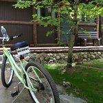Cabin 5B with rental bike