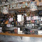Bones Roadhouse, the bar