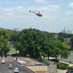 Helicopter rides right next door