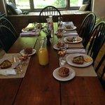Beautifully set table!