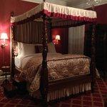 Bedroom in the John LaFarge Suite