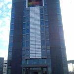 Front-Ansicht HOTEL ALT