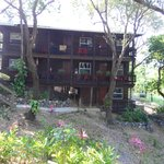 The spotlessly clean and charmingly decorated Ecolodge