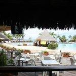 Main pool and bar area