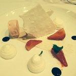 The vacherin dessert. So light!