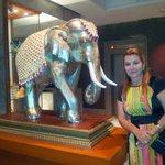 Elefante simbolo da Tailandia no Mandarin
