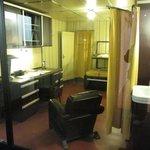 Captain's cabin of WW2 destroyer Mogador