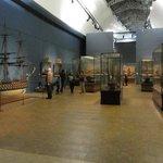 Museum interior - more men of war models