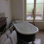 Classical clawfoot tub