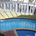 Indoor heated swimming pool and spa pool