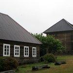 Fort Ross, grey rainy day
