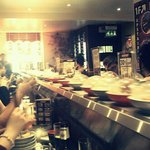 So much sushi :)