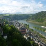 View of the Rhine from the terrace