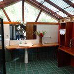 """Spacious Bathroom -- This is """"Glamping""""!"""