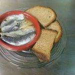 Filets de sardine mariné