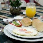 Nuestro desayuno Tipo Americano