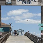 Pier to walk out on.