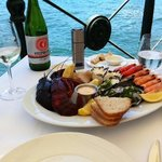 Seafood by the water