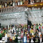 Wide selection of beverages available.