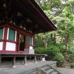 Small temple in the garden outside the hotel.  Wonderful trails to walk.