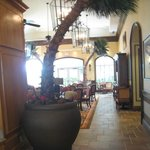 lobby looking out to the breakfast area