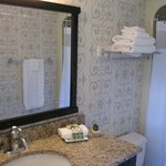 Newly renovated bathroom (limited room types)