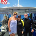 Diving with our Fabuous Dive Master Jaxx