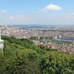 View of Lyon from Basilique