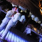 Wedding Reception on the deck of Las Nubes