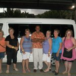 this is our group with jo from debs tours