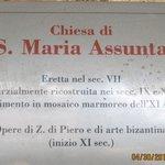 History of Santa Maria Assunta