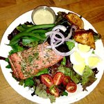 Herb Roasted Salmon Nicoise Salad