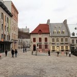 Village square or court yard