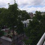 vista del balcon!!