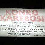 Sop Konro Karebossi
