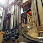 Michelangelo's staircase.