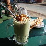 The famous avocado smoothie in Aorir