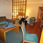 Quarto do hotel Roma
