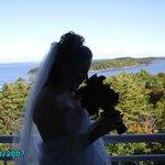 Wedding morning in Bar Harbor.