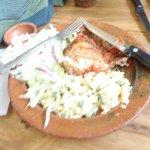 Almuerzo de pollo