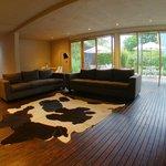 Public living room next to GYM