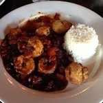 Shrimp with chorizo